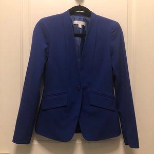 New York Company Blue Stretch Blazer 0